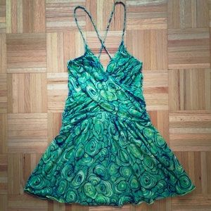 LaRok Dresses & Skirts - LaRok silk printed mini dress, size XS
