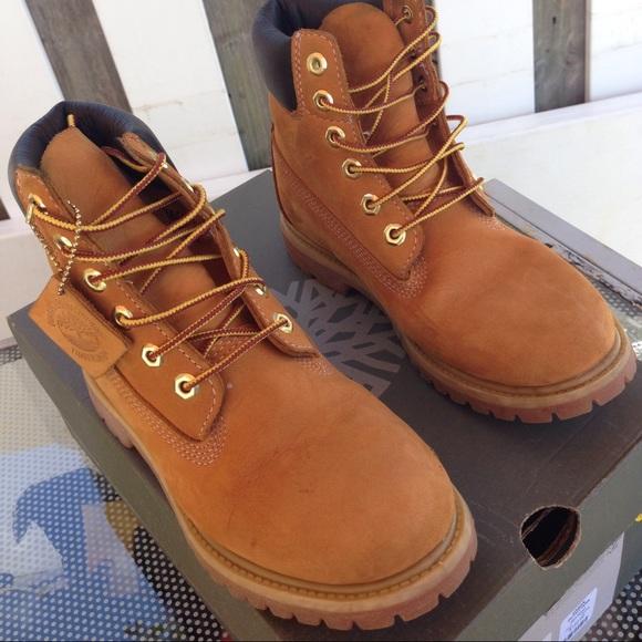 Timberland Boots. Youth size 5.5Women 7