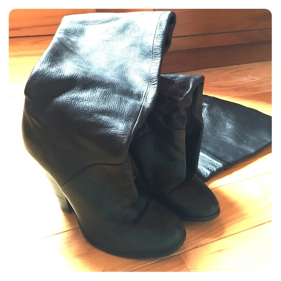 60 aldo boots aldo thigh high black boots from