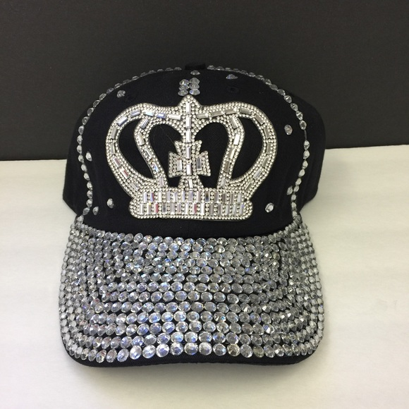 accessories hats baseball caps rhinestone bling wholesale