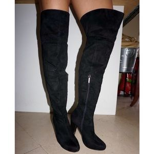 Kardashian Kollection Shoes - Kardashian Kollection Scarlett Over The Knee Boot