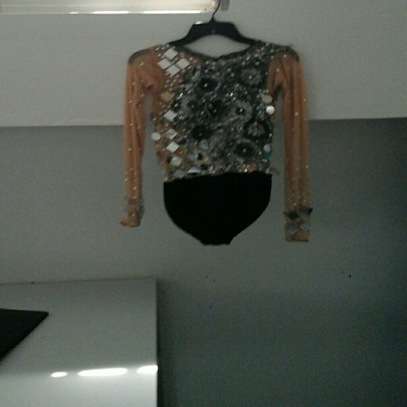 36 off outerwear body suit with cristals and mirrors for Long body mirror