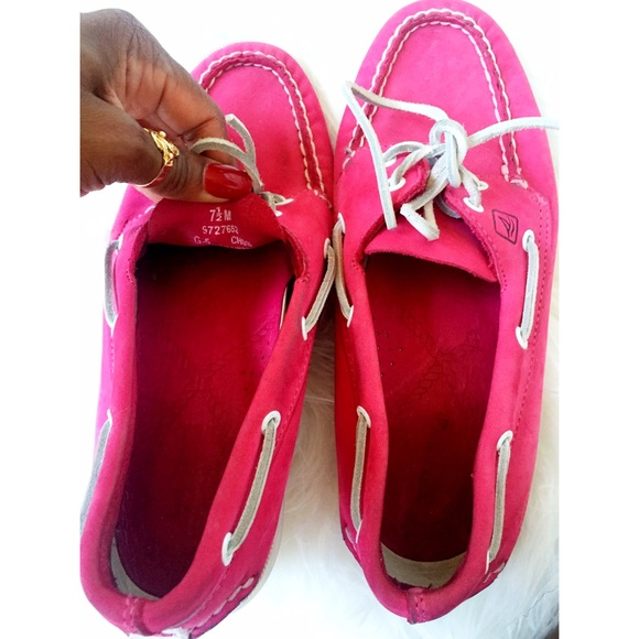 Sperry Shoes - Pink Sperry Shoes