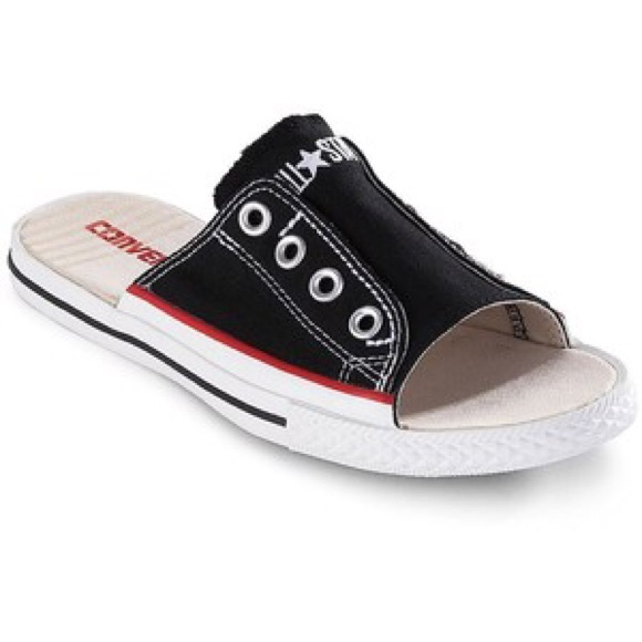 Converse Shoes - 🆕 Converse All Star Black Slides 599f18773