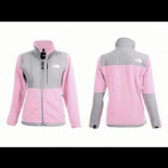 Size small light pink north face jacket. M 55e49ea815c8af15c5013d36 91c9c776c