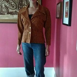 Todd oldham Jackets & Blazers - Vintage Todd Oldham jacket, graphic brocade