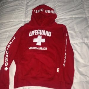 Jackets & Blazers - Virginia beach lifeguard jacket