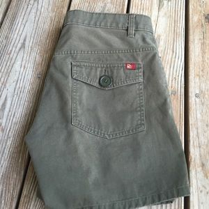Nautica Jeans army green shorts