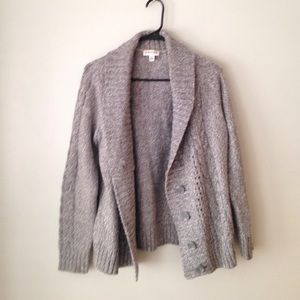 Jackets & Blazers - Grey sweater