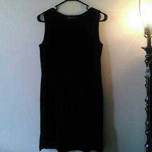 Dresses & Skirts - Black Velvet Dress