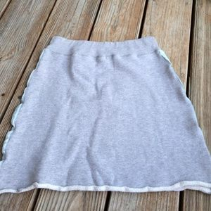 Benetton Bottoms - Girls grey Benetton skirt