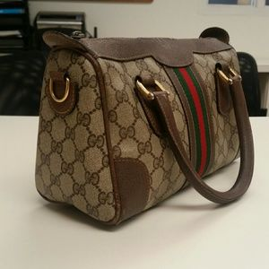f4048665ba5 Gucci Bags - Authentic GUCCI Vintage Classic Stripes Speedy