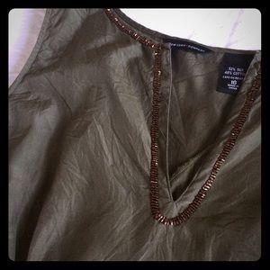 NY&Co silk sleeveless top