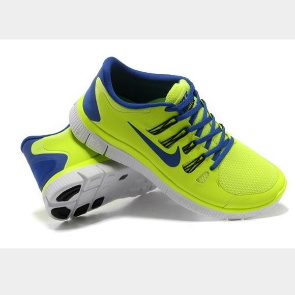 7fd0d140eb741e Nike Shoes - Nike free 5.0 women s running shoes neon yellow