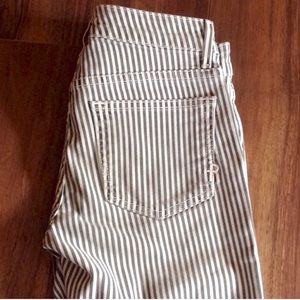 Rich & Skinny Denim - Rich & Skinny striped skinny jeans