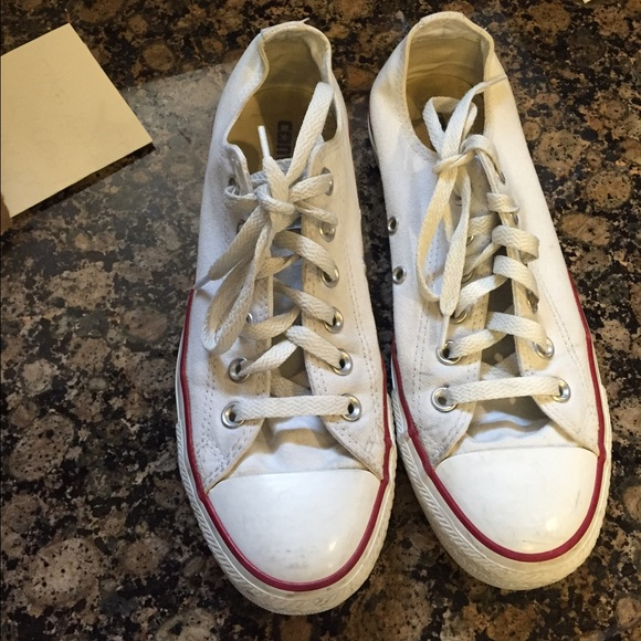 825b307bdfd2 Converse Shoes - White converse good used condition ON HOLD