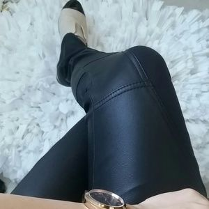 Ted baker leather pants! Like new condition!