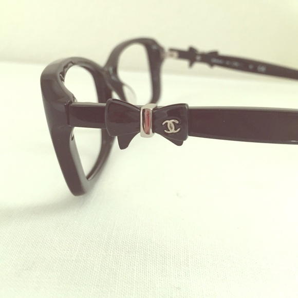 62% off CHANEL Accessories - Authentic Chanel frame bow ...