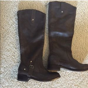 DV by Dolce Vita Shoes - Dolce Vita BRAND NEW dark brown suede tall B.