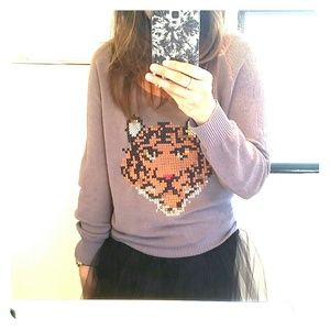 Freeway Sweaters - Grey tiger sweater!