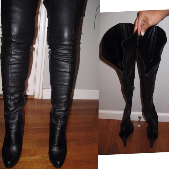 Sexy Aldo Thigh High Black Boots   Poshmark