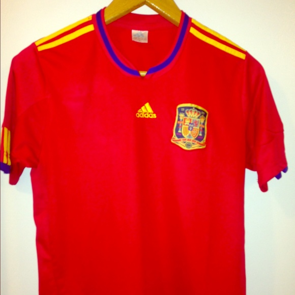 huge discount 4ea27 b49b9 Authentic Spain National Team Adidas Jersey