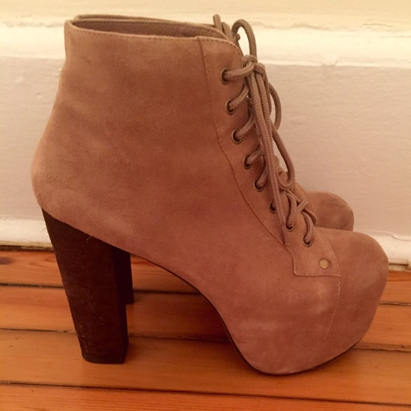 60 off jeffrey campbell shoes jeffrey campbell lita bootie from posh 39 s closet on poshmark. Black Bedroom Furniture Sets. Home Design Ideas