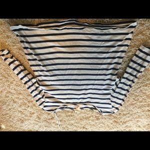 Striped 3/4 sleeve