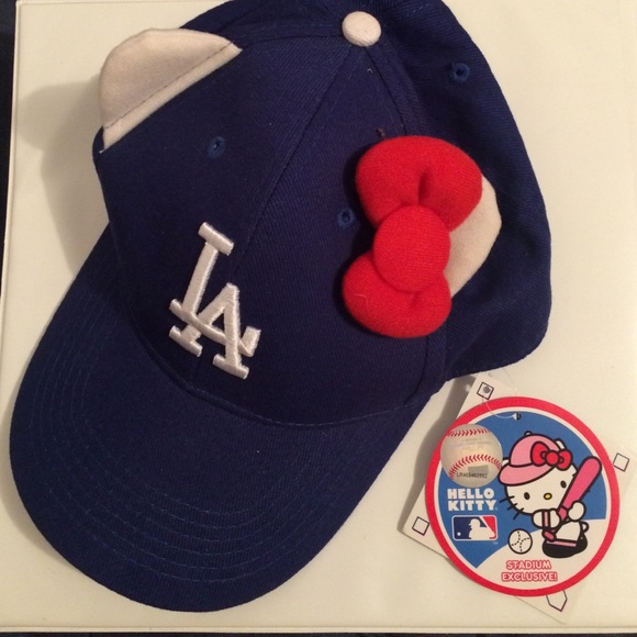 Accessories - LA Dodger Hat- hello kitty edition b90dca1c3d4