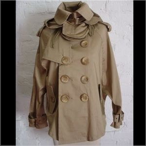 Jackets & Blazers - Hooded cape/ trench of your dreams!