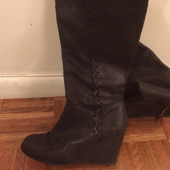 80 lucky brand shoes lucky brand leather wedge