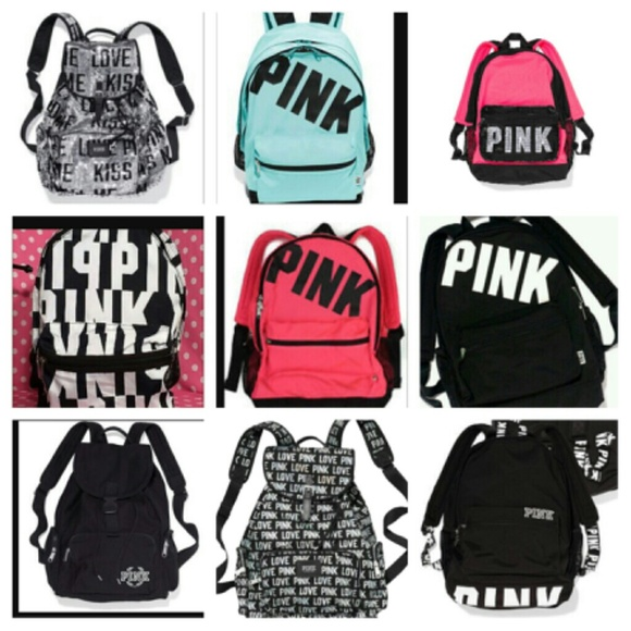 1c801dfd89 ISO VS love pink backpack (NOT SELLING)