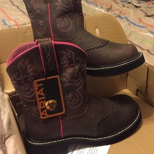 Ariat Fatbaby Saddle Boots - Boot Hto