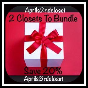 2 Closets To Bundle & Save