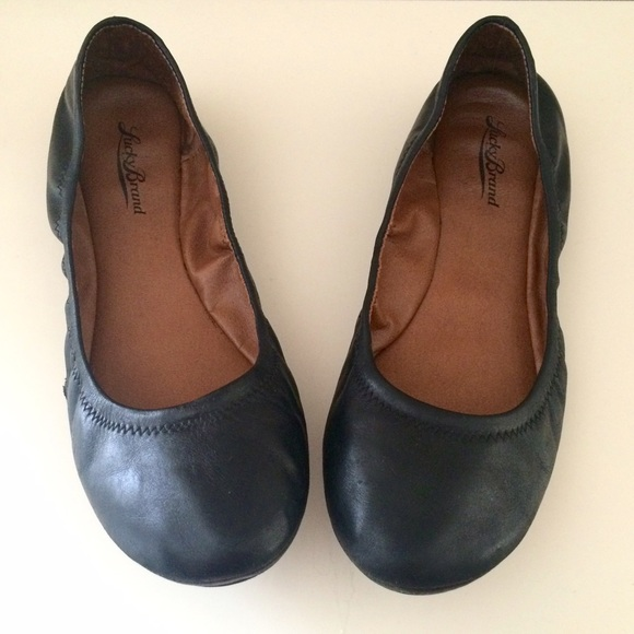 9335f289dfb Lucky Brand Shoes - Lucky Brand black Emmie ballet flats shoes sz 9.5