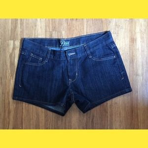 REDUCEDThe Diva Dark Denim Shorts
