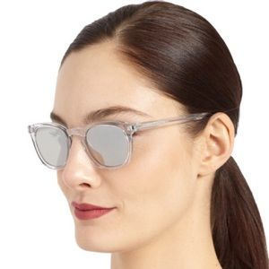 a237f28abfb Saint Laurent Accessories - Saint Laurent SL 28 900 Clear Mirrored  Sunglasses