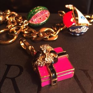 Juicy Couture Accessories - New Juicy Couture Charm - Pink Box & Bow