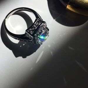 Jewelry - Gorgeous New Crystal Statement Ring✨