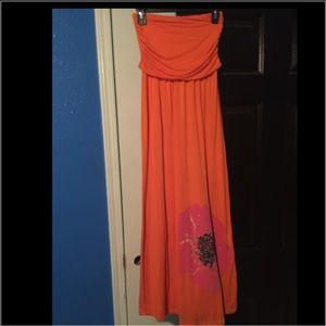 Maxi dress sz S