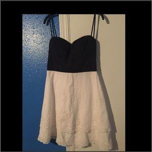 Strapless dress sz S