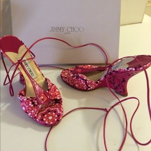 Jimmy Choo London wedge