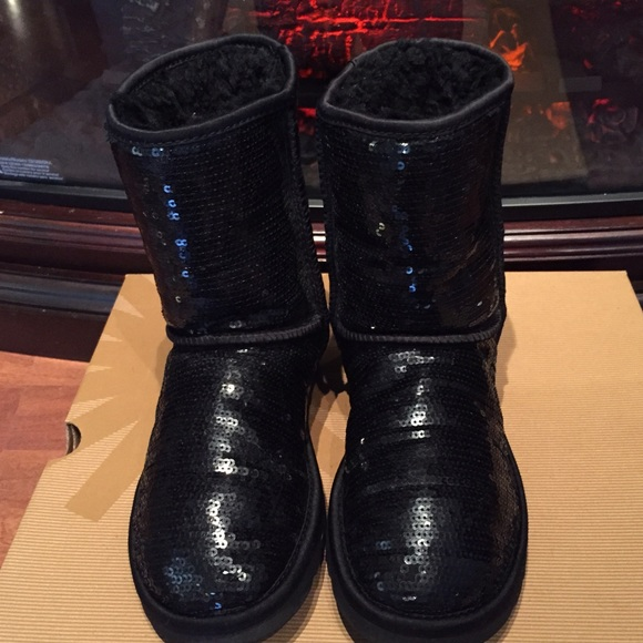 56 ugg shoes clearance sale black sparkle