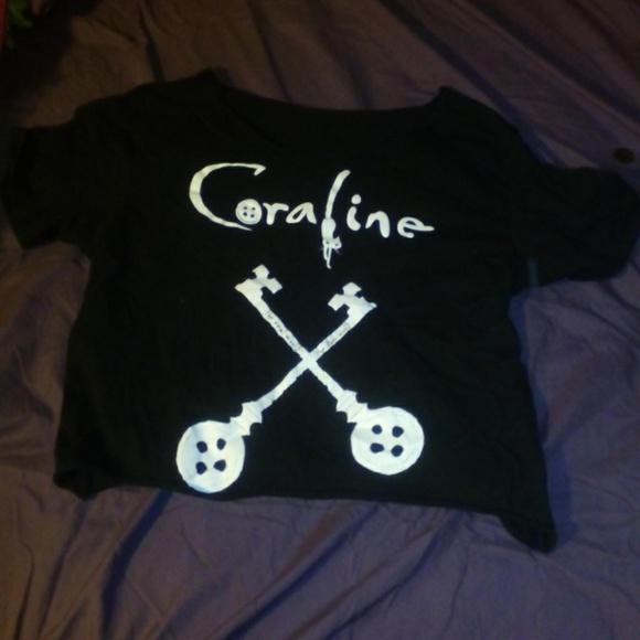 Hot Topic Tops Coraline Tshirt Poshmark