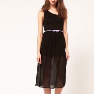 ASOS Dresses & Skirts - ASOS black midi dress