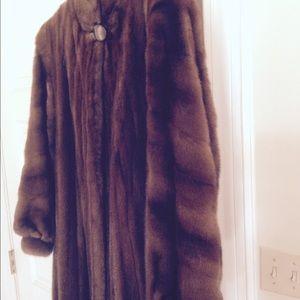 Outerwear - Beautiful Full length Mink Coat