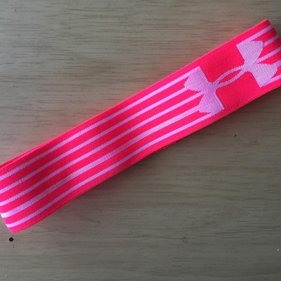 Under armour headband pink. M 55e6415287dea068f901cd9f bfe5b093e1c