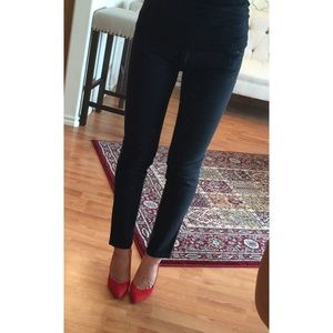 NEW YORK & CO Black Skinny Jeans