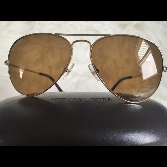 e58f6d80f3 MICHAEL KORS Jet Set Aviator Sunglasses M2047S 717