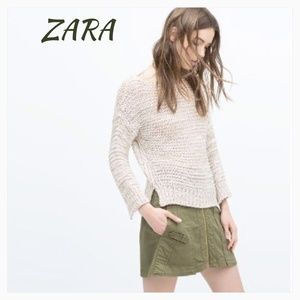 NWT ZARA SOFT STYLISH SWEATER